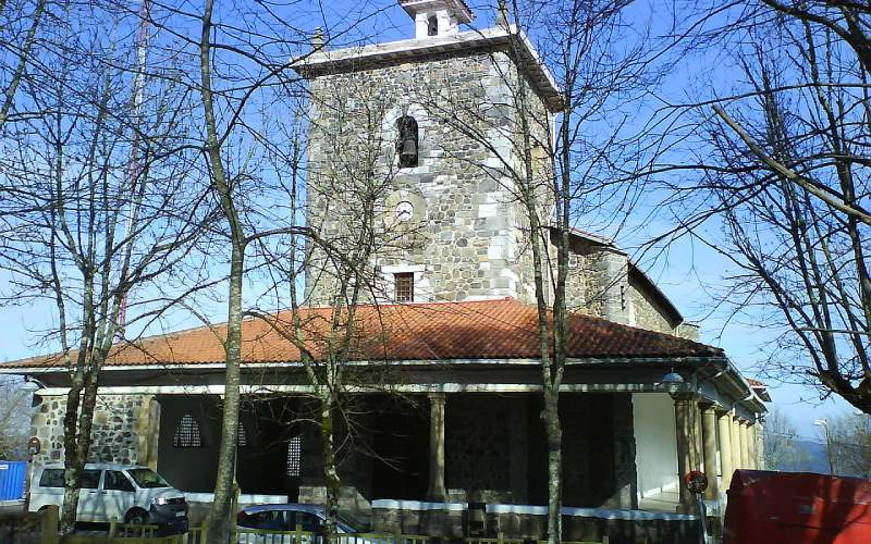 Santuario de la virgen de Arrate