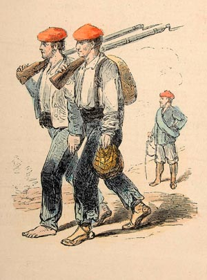 Soldados carlistas