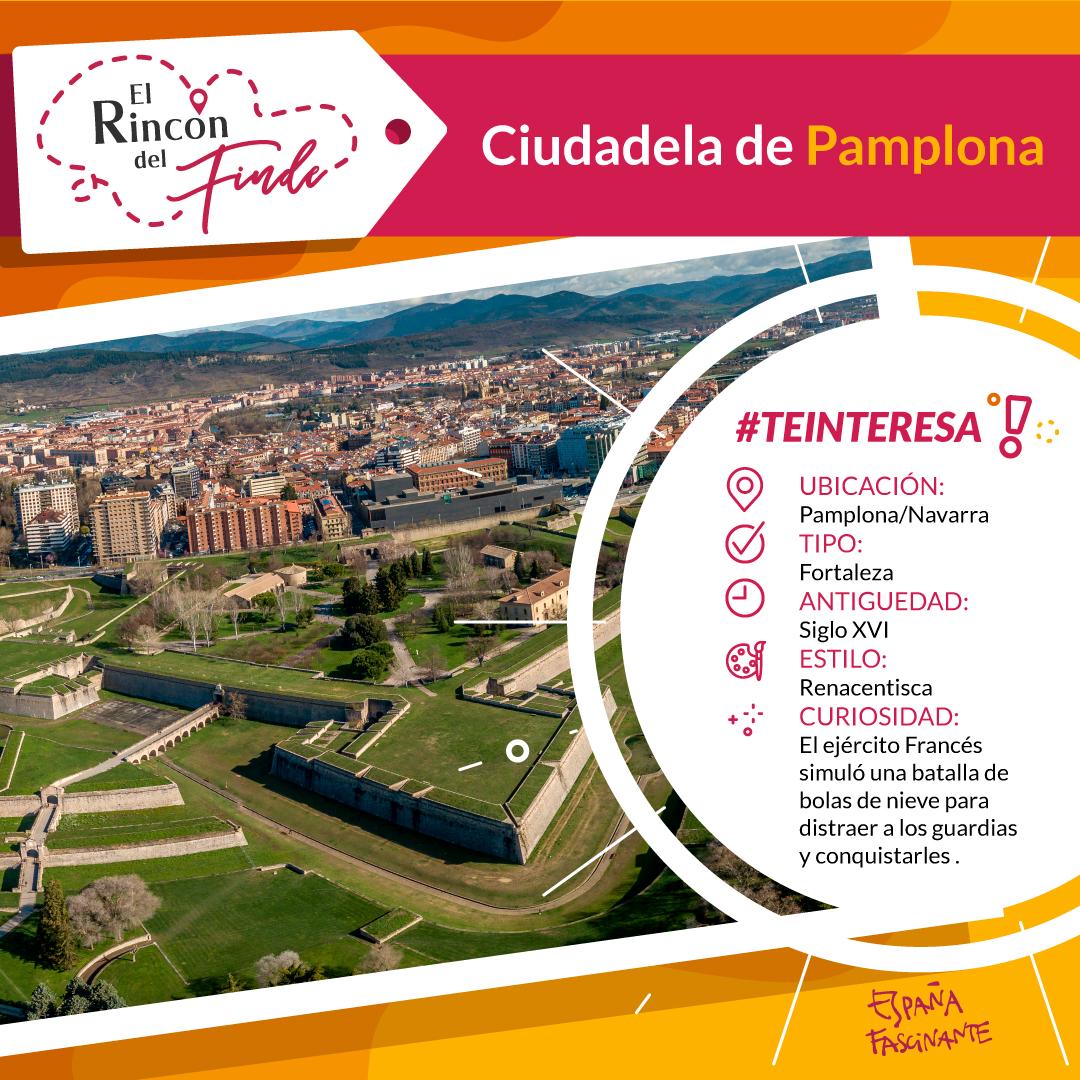 Ficha ciudadela de Pamplona