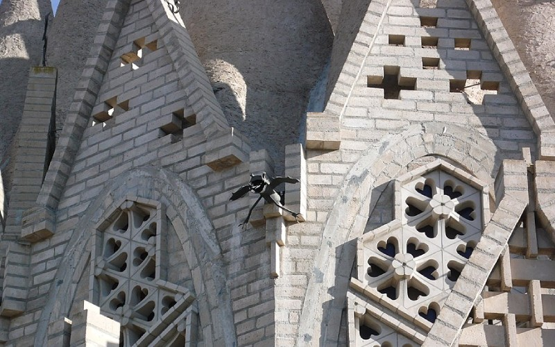 Fachada externa del Santuari