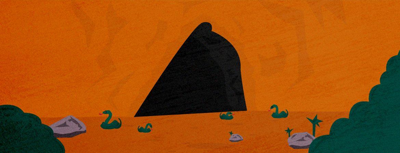 Ilustración de la cova del Bolet