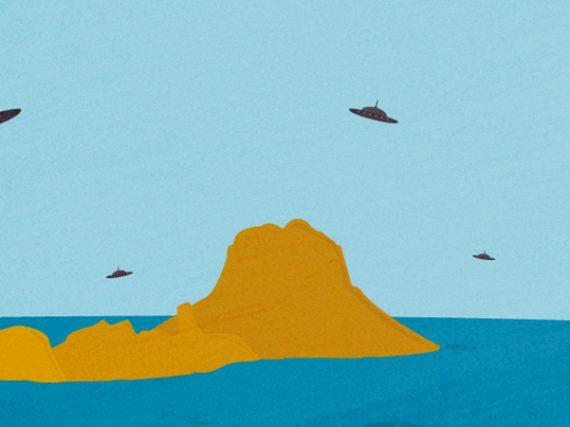 Es Vedrà, el islote balear de los ovnis   Leyendas del Mediterráneo 8