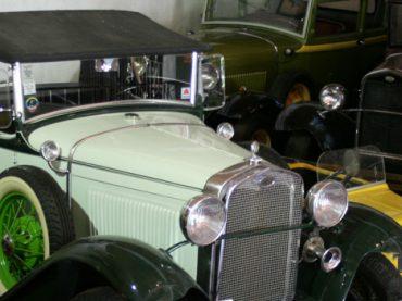 Vehículos clásicos en Aragón