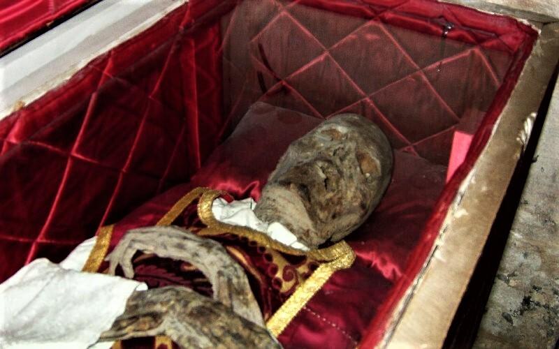 Momia del chantre de Calahorra