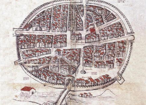 Plano de Aranda, el primer plano de España