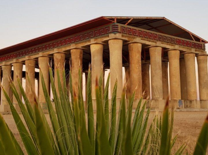 El Partenón ecológico de Don Benito, un monumento al reciclaje