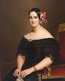 Regente Maria Cristina de Borbon