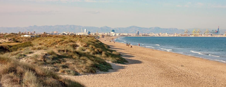 Playa del Saler, valencia