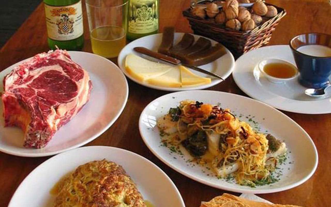 Comer Astigarraga restaurante astarbe sadardotegia