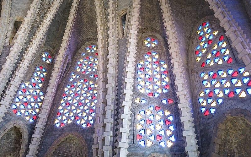 Interior santuari Mare de Deu