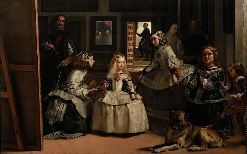 La obra de Velázquez Las Meninas