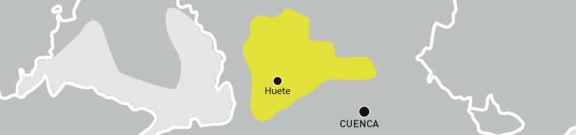 mapa denominación Aceite de la Alcarria