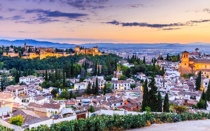 El Albaicín y La Alhambra de Granada