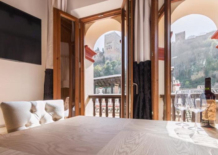 Dónde dormir en el Barrio del Albaicín