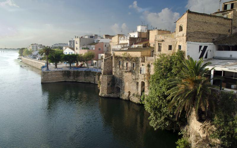 Amposta y el Ebro