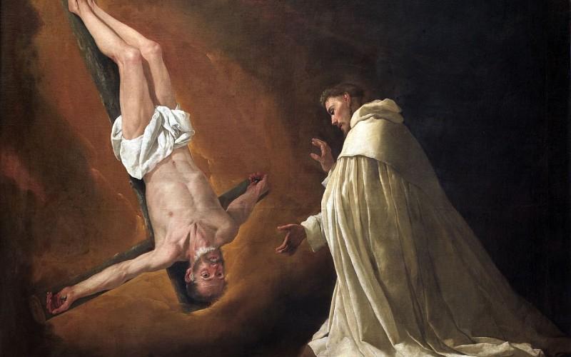 Aparición de San Pedro a San Pedro Nolasco de Francisco de Zurbarán