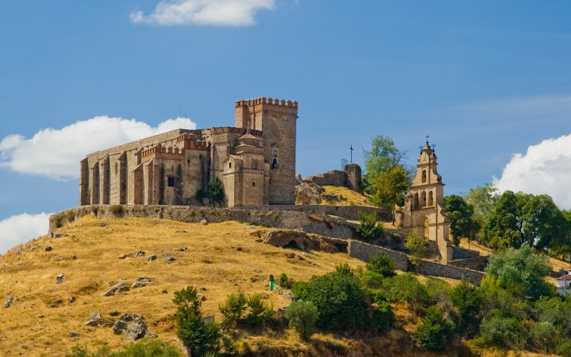 Castillo-iglesia de Aracena