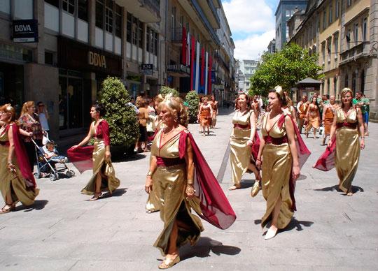 desfile romanas