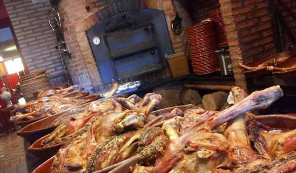 comer san lorenzo escorial asador rey