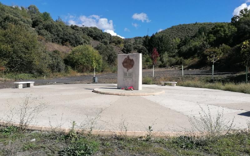 Monumento a los trabajadores forzados en Fabero del Bierzo