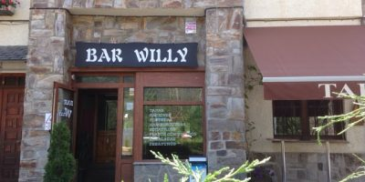 Comer Sallent Gallego bar willy