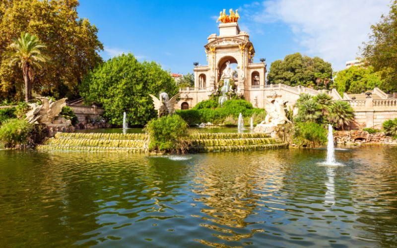 Fuente del Parque de la Ciutadella