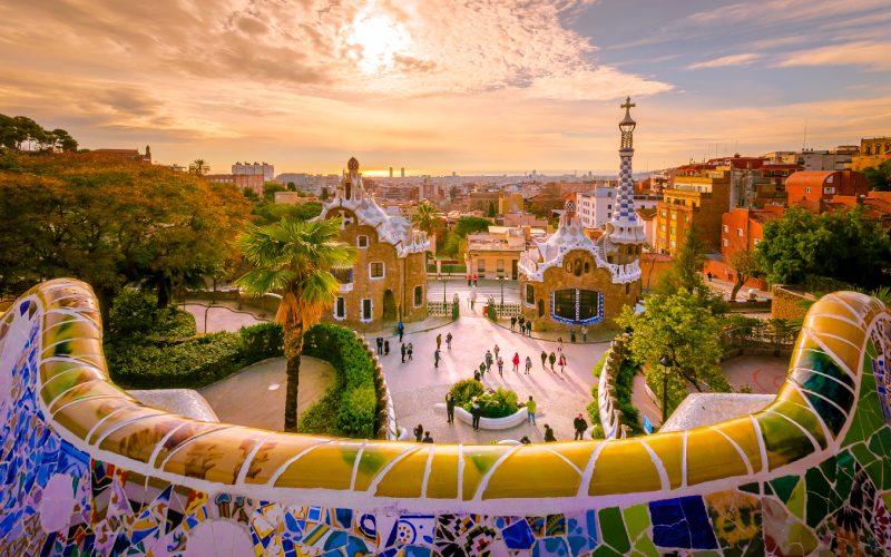 Ver el Park Güell, algo que hacer en Barcelona
