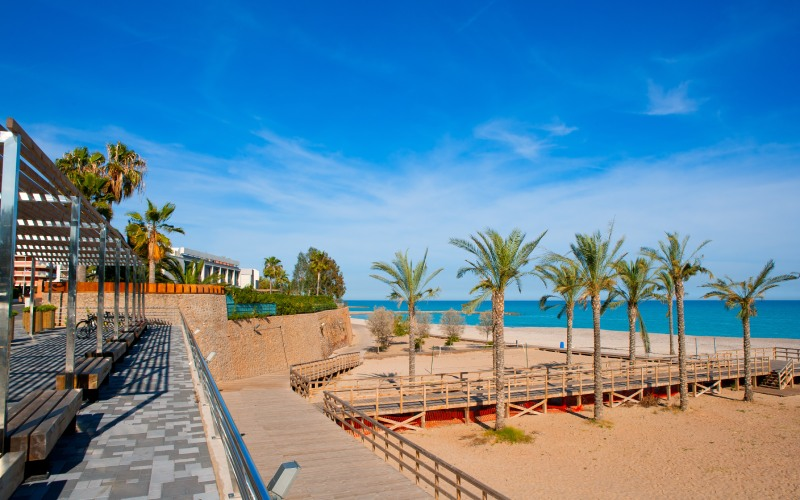 Benicassim y sus playas