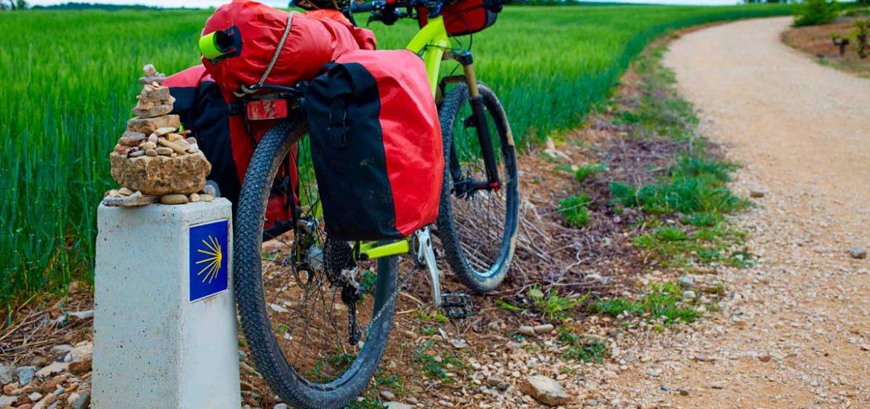 Camino santiago bicicleta