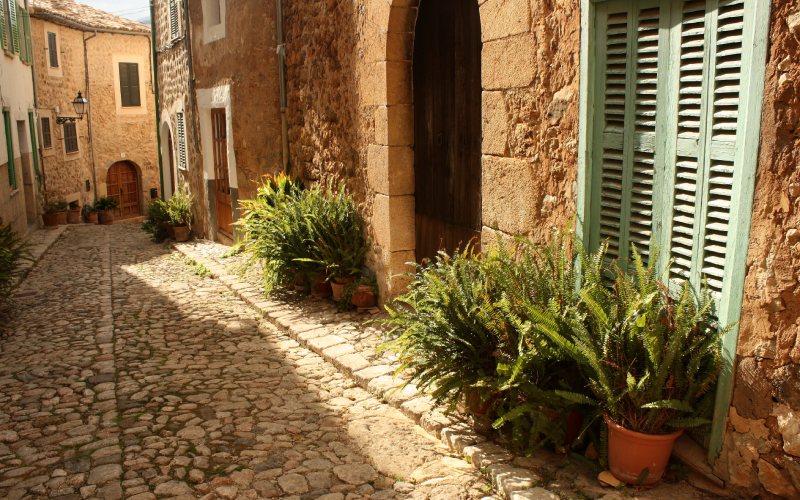 Biniaraix en Mallorca, destino para huir de la Navidad