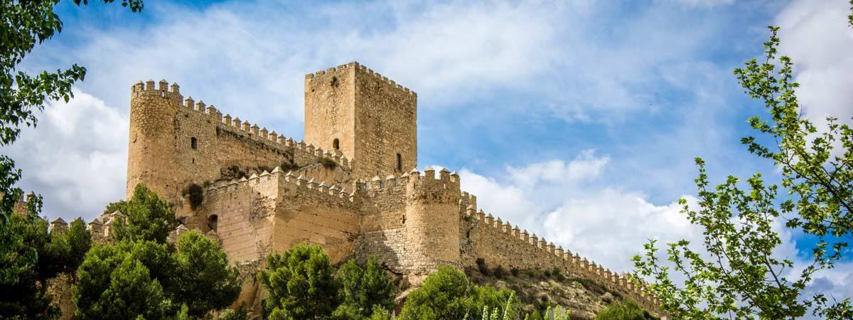 5 châteaux impressionnants de la province de Albacete