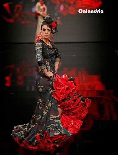 moda flamenca SIMOF calandria