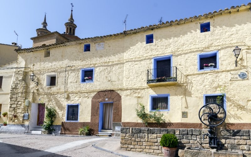 Calle Goya y arquitectura popular
