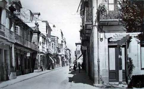 calle mosquera ocarballino foto antigua