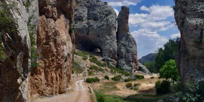 Caminos en Calomarde
