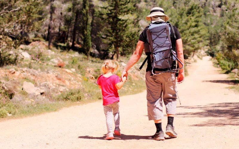 padre hija camino