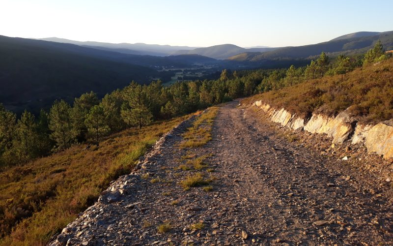 Camino tras Tamicelas
