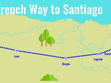 French Way to Santiago