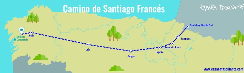camino santiago frances