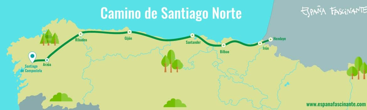 camino del norte, costa y mar