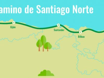 Camino del Norte (costa) a Santiago «por acantilados y playas»