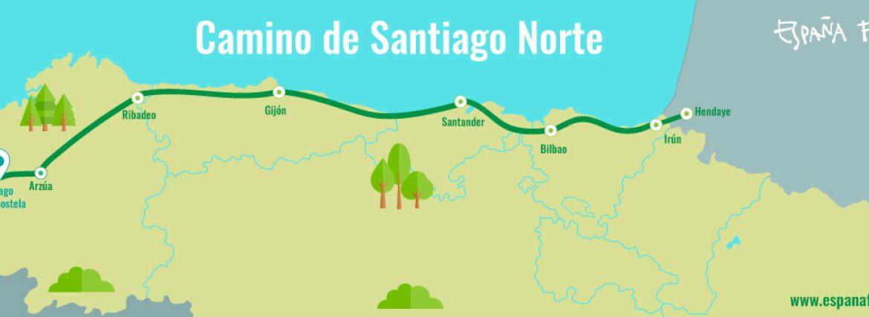 Northern Way to Santiago or Northern Camino