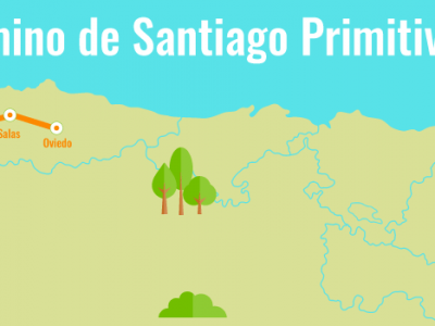 Camino Primitivo «entre nubes y vacas»