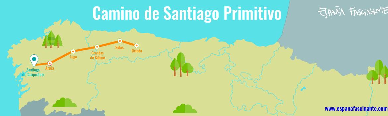 camino santiago primitivo