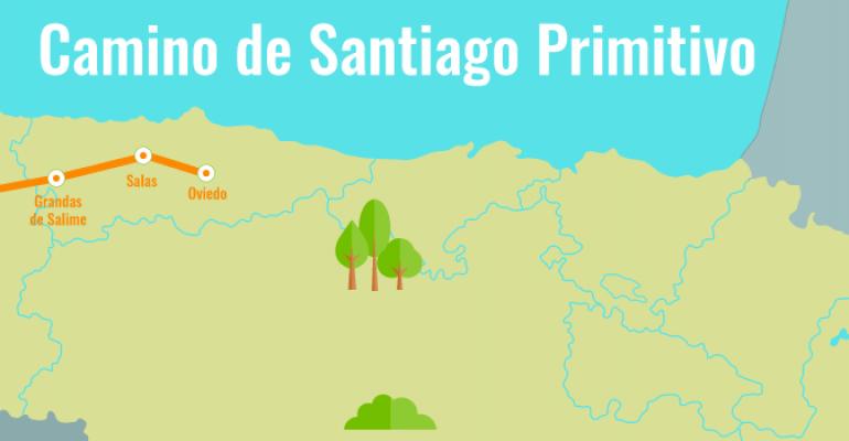 """Camino Primitivo """"entre nubes y vacas"""""""