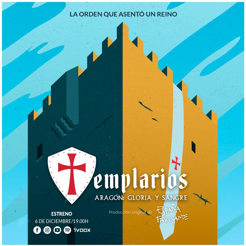 Templarios de Aragón cartel