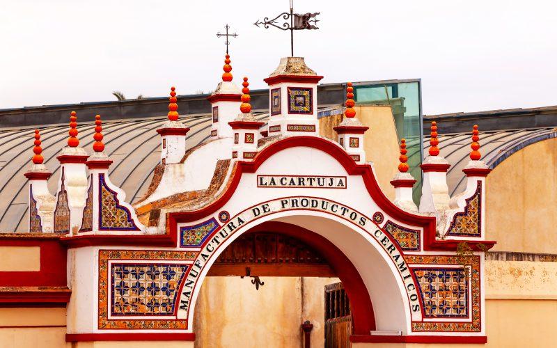 Entrada de la Cartuja de Sevilla