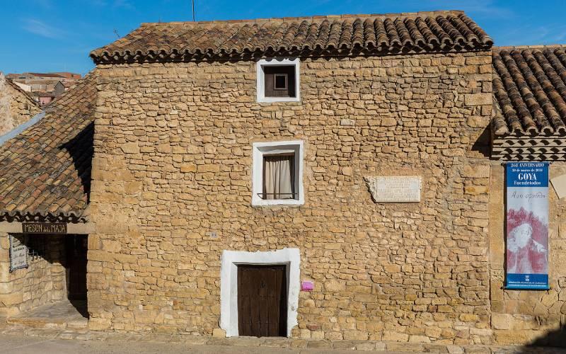 Casa Natal de Goya en Fuendetodos