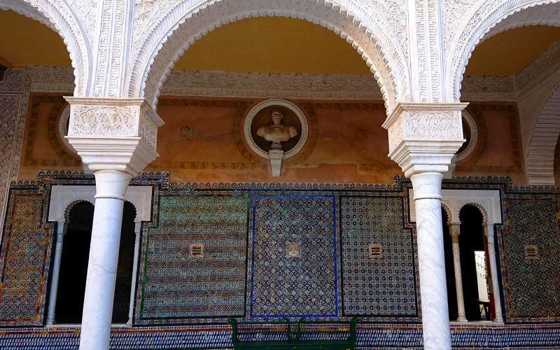 Casa de Pilatos interior