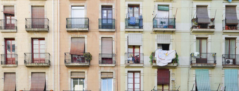 Casas tradicionales en Barcelona